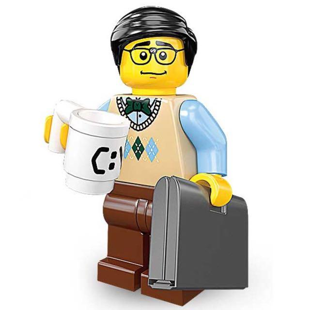 LEGO nerd Polle